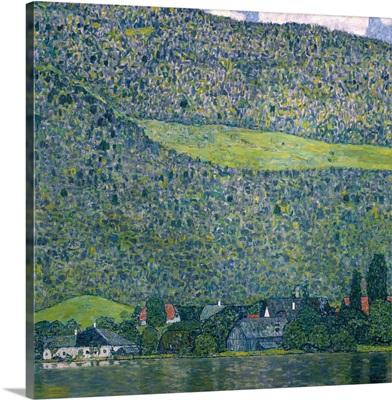 Unterach on Lake Attersee by Gustav Klimt