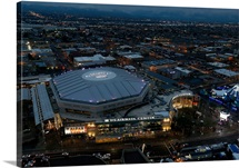 US Airways Center before a NBA game on January 30, 2015 in Phoenix, Arizona