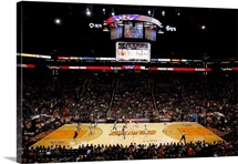 US Airways Center during a game between the Phoenix Suns and the Denver Nuggets