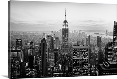 View of New York city.