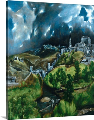 View Of Toledo By El Greco