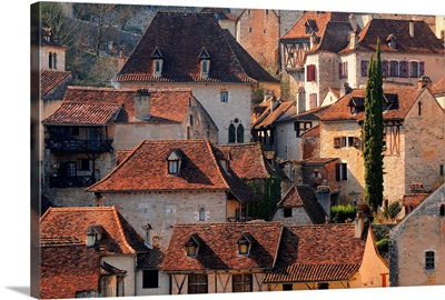 Village of Saint Cirq Lapopie, Quercy region, France