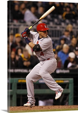 Yadier Molina Of The St Louis Cardinals In Action During The Game - Yadier molina wall decals