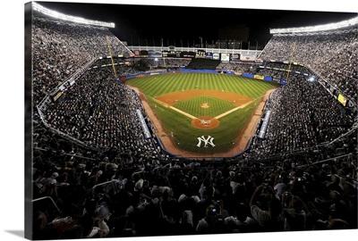 Yankee Stadium during the last regular season game in 2008