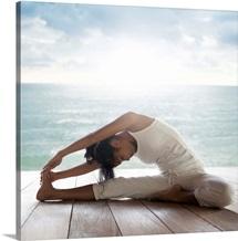 Yoga: Janusirsasana (Head to Knee Pose)