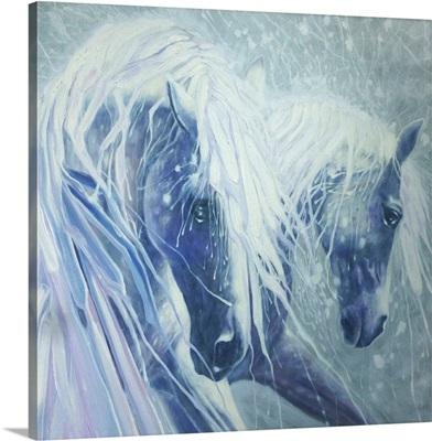 Ice Horses - Square