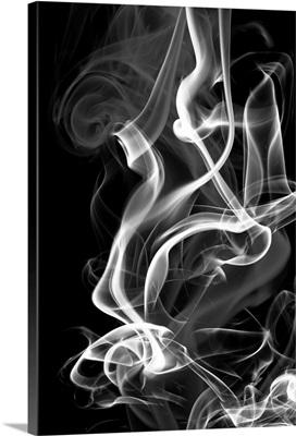 Black Smoke Abstract