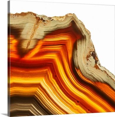 Cadmium Orange Agate I