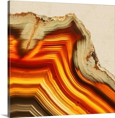 Cadmium Orange Agate II