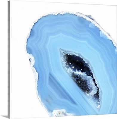 Cerulean Blue Agate I