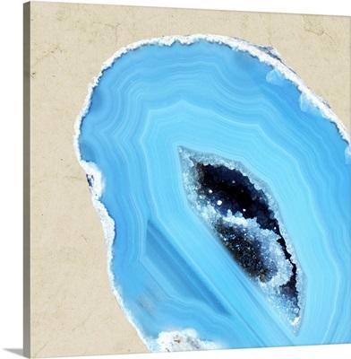 Cerulean Blue Agate II