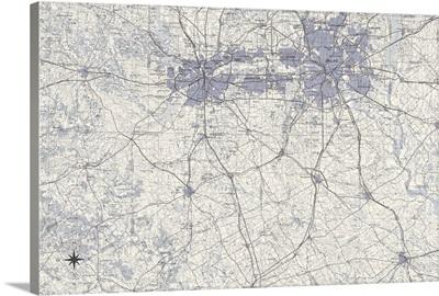Dallas Map B