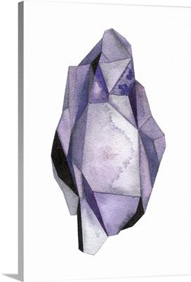 Faceted Gem Violet