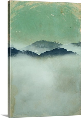 Foggy Paper Landscape B