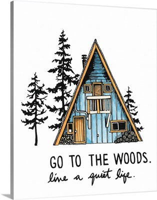 Go to the Woods Cabin