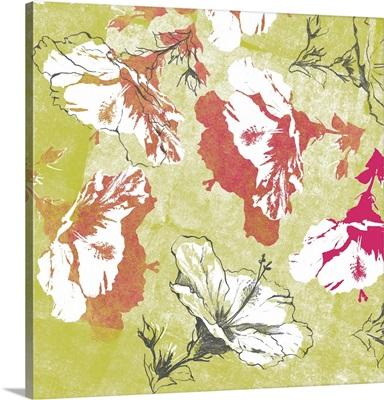 Graphic Hibiscus I