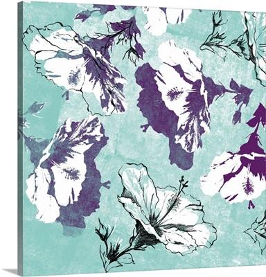 Graphic Hibiscus II