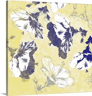 Graphic Hibiscus III