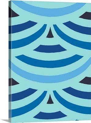 Monochrome Patterns II in Blue