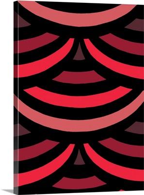 Monochrome Patterns II in Red