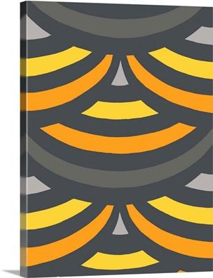 Monochrome Patterns II in Yellow