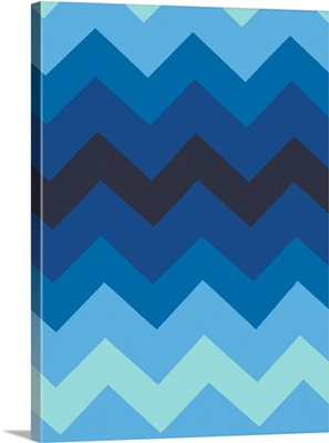 Monochrome Patterns III in Blue