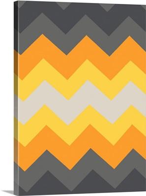 Monochrome Patterns III in Yellow