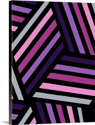 Monochrome Patterns IV in Purple
