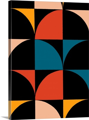 Monochrome Patterns IX in Multi