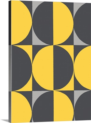 Monochrome Patterns V in Yellow