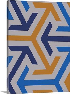 Monochrome Patterns VIII in Multi