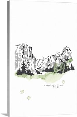 Nation Park Yosemite