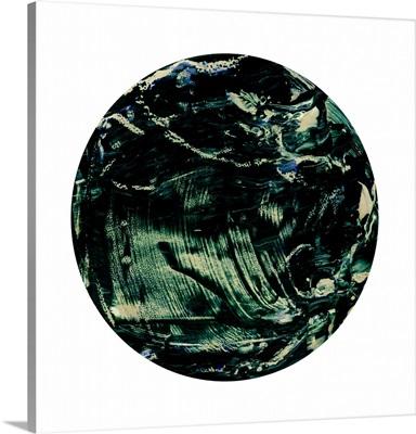 Painterly Circle on White K
