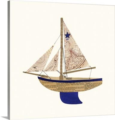 Paper Cutout Boat A