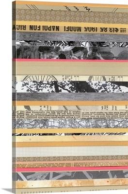 Paper Strip Collage A