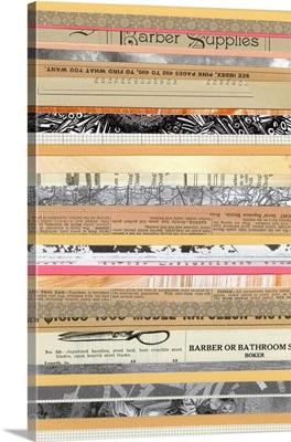 Paper Strip Collage B