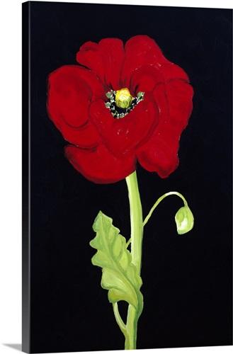 Red Poppy Wall Art, Canvas Prints, Framed Prints, Wall Peels | Great ...