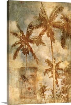 Retro Palms I