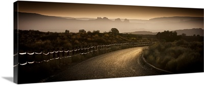 Road with Fence