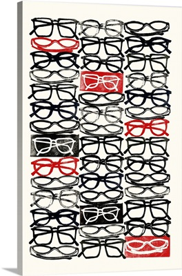 Stacked Eyeglasses 1