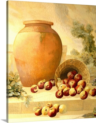 Urn with Apples