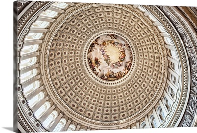 US Capitol Rotunda Detail III