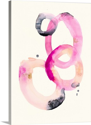 Watercolor Oval 1