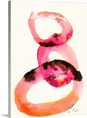 Watercolor Oval 2