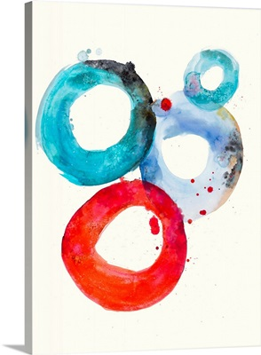 Watercolor Oval 3