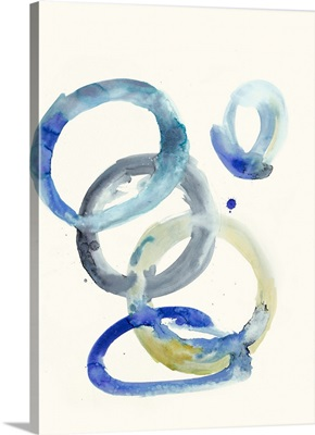 Watercolor Oval 4