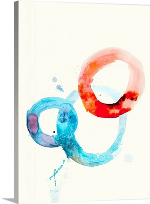 Watercolor Oval 6