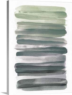 Watercolor Stripes III