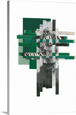 Woven Portrait (Green)