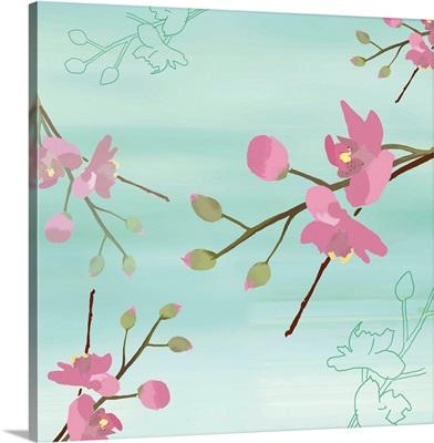 Zen Blossoms I